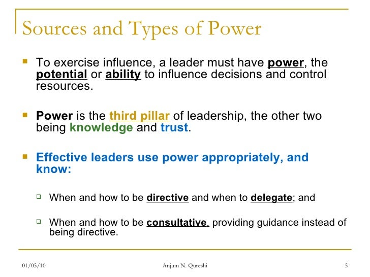 5 Power, Politics, And Leadership