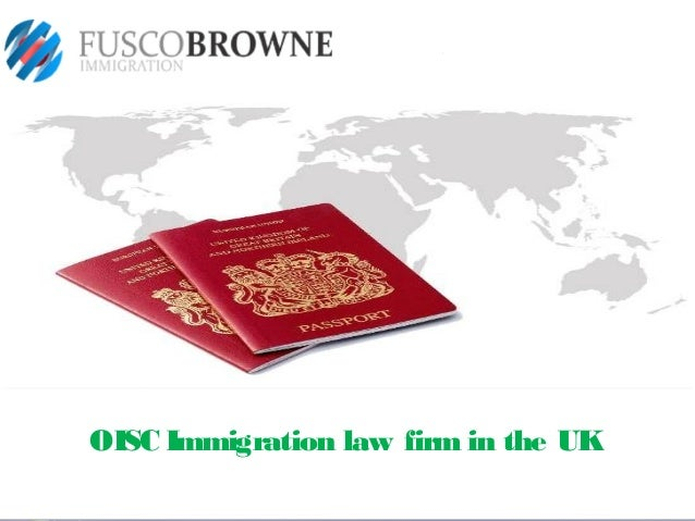 OISC Immigration law firm in the UK