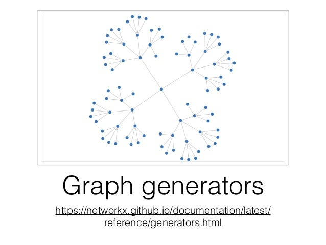 Graph Libraries - Overview on Networkx