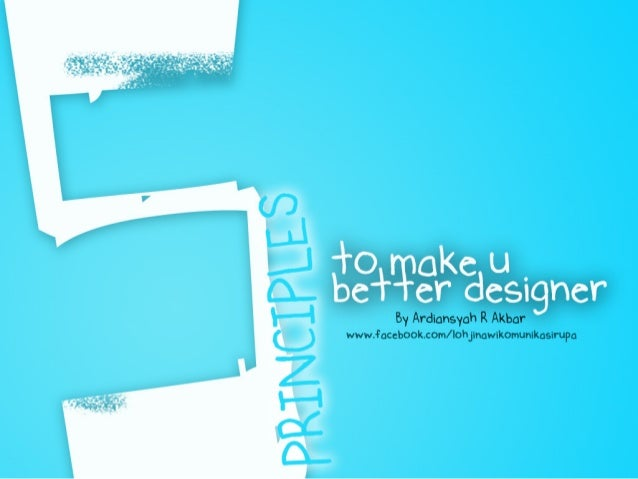 To Be Better Designer
