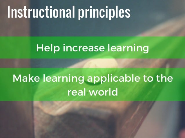 5 Principles of Instruction That Will Make Your eLearning Rock Slide 2