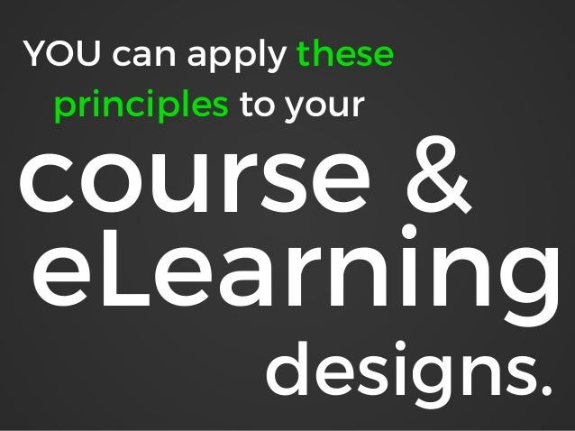 5 Principles of Instruction That Will Make Your eLearning Rock Slide 3
