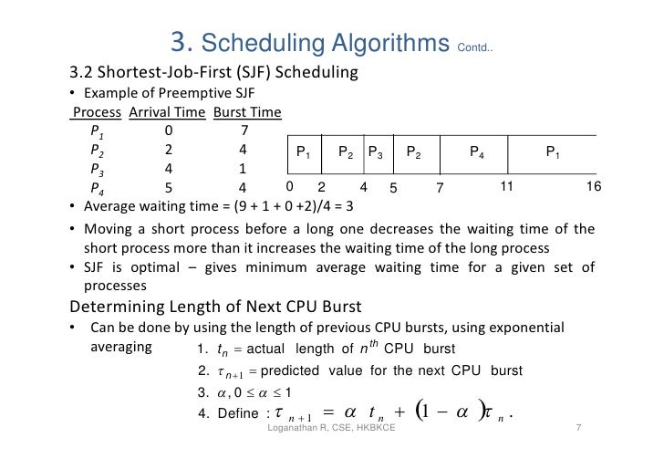 5 Process Scheduling