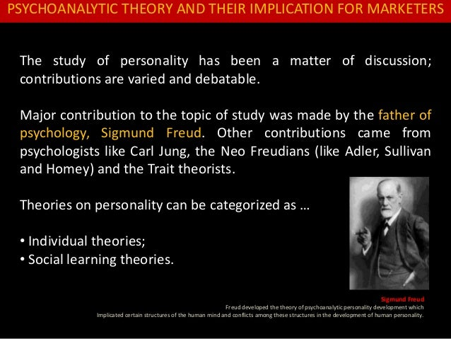 freud and jung early psychoanalytic theories essay Sigmund freud photobiography share pin email search the site go the publication of his three essays on the theory of sexuality in 1905 served to deepen the divide between freud and the medical community 4 quoted by jung to freud freud and jung's early relationship.