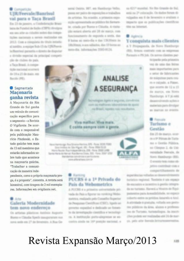 Revista O Vigilante na IMPRENSA