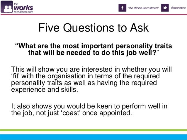5 questions to ask in an interview (and 5 not to!)