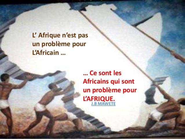 CONCLUSION   Le progrès a lieu lorsque des LEADERS courageux et habilessaisissent l'opportunité de changer   les choses po...