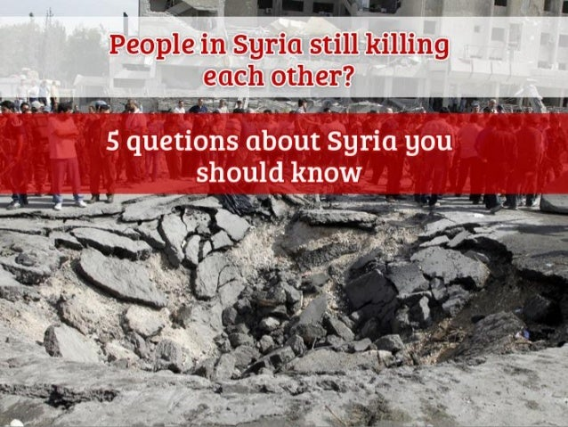 I have always been flabbergasted by how ignorant Americans are about Syria and how US policy makers in the Obama Administr...