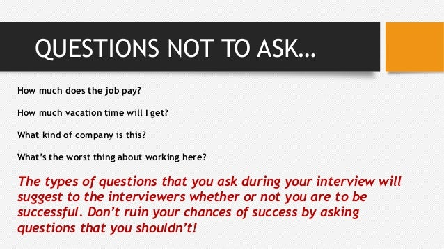 5 Key Questions to Ask During an Interview