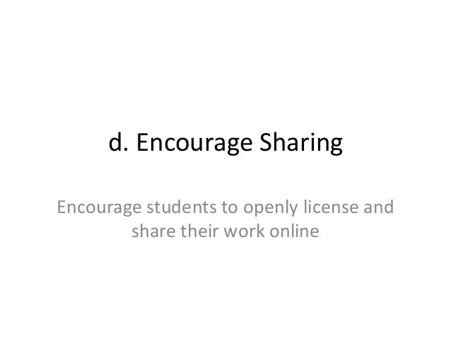 5R Open Considerations • When should you openly license and share your assessments? • How should you share your assessment...