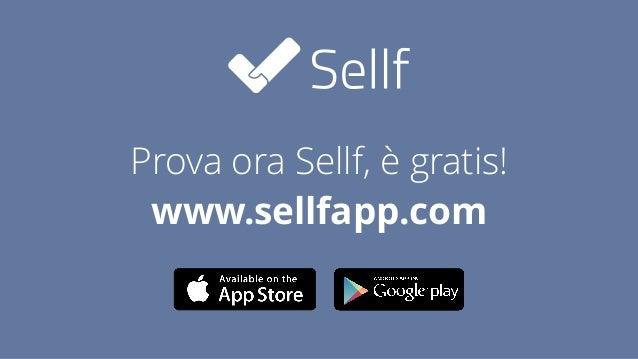 Prova ora Sellf, è gratis! www.sellfapp.com