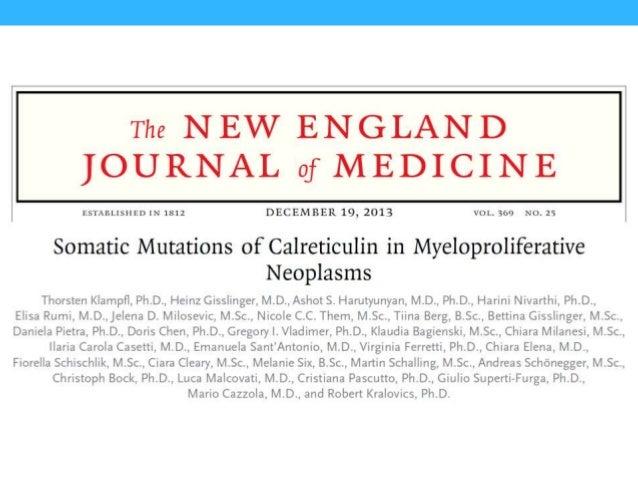 Klampfl et al. NEJM 2013