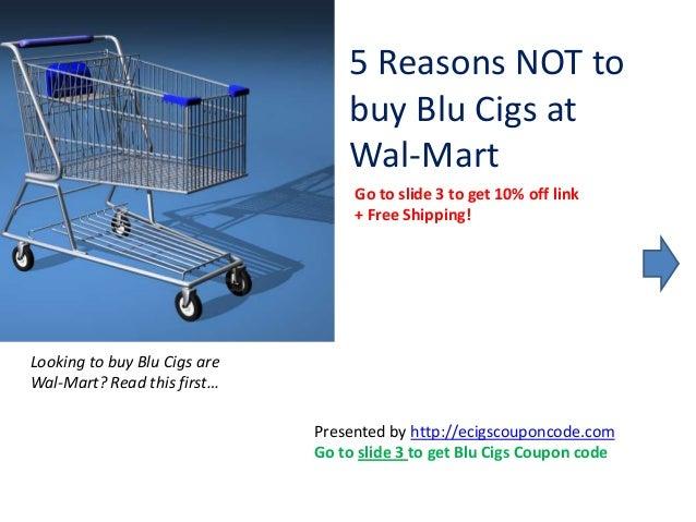 Blu cigs discount coupon