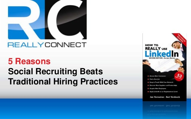 5 Reasons Social Recruiting Beats Traditional Hiring Practices