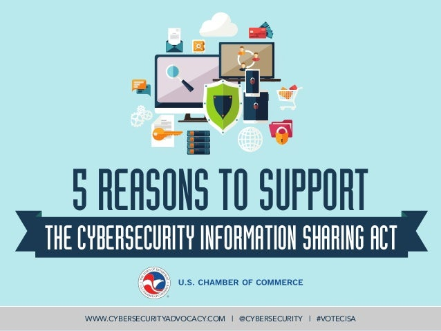 Technology Management Image: 5 Reasons To Support Cybersecurity Information Sharing Act