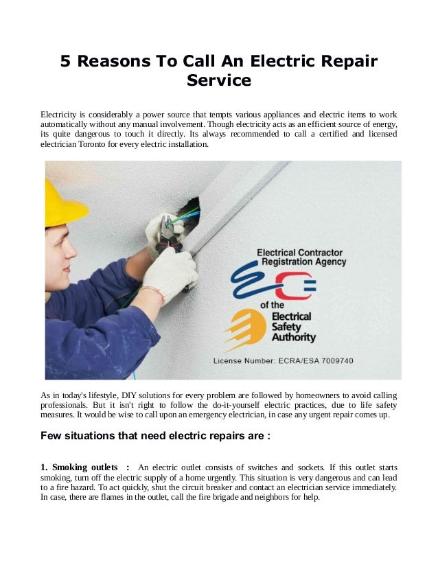 5 reasons to call an electric repair service 1 638gcb1484552104 5 reasons to call an electric repair service electricity is considerably a power source that tempts solutioingenieria Images
