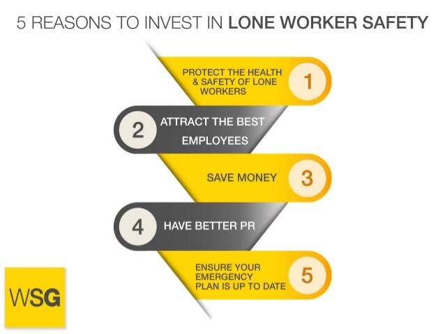 5 Reasons to Invest In Lone Worker Safety