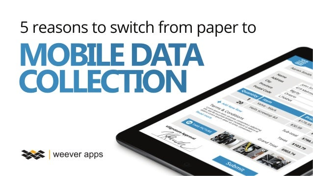 data collection paper