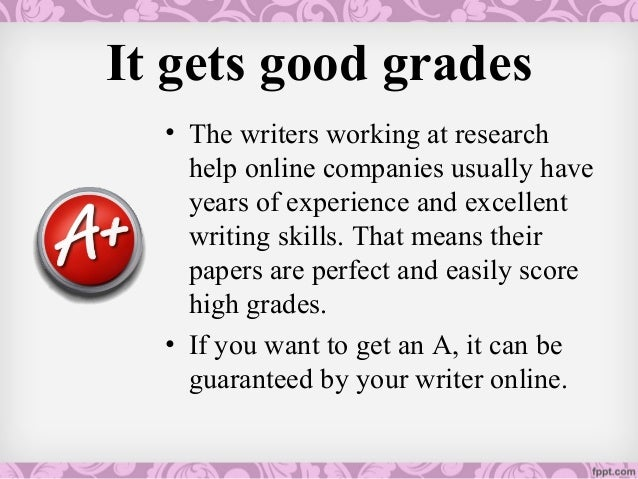 Online research paper help