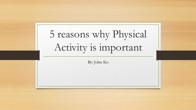 video on why exercise is important