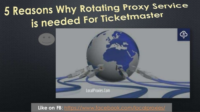 Like on FB: https://www.facebook.com/localproxies/