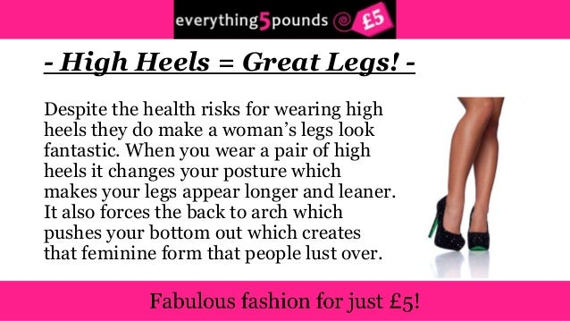 65fad2aeb990 5 reasons why we love wearing high heels