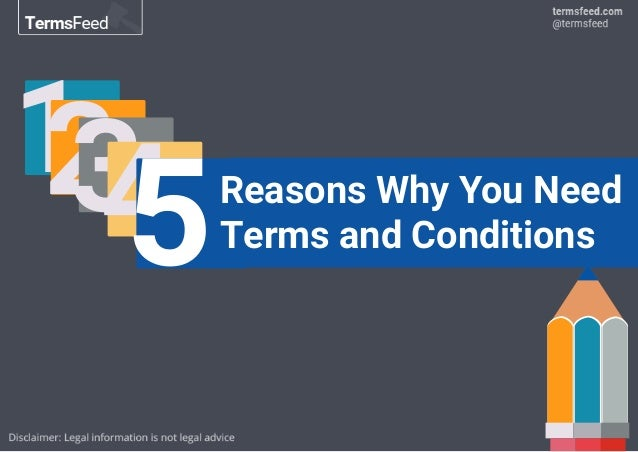 12345Reasons Why You Need Terms and Conditions