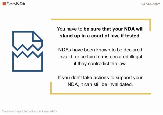 5 Reasons Why Your NDA is Not Enough Slide 3