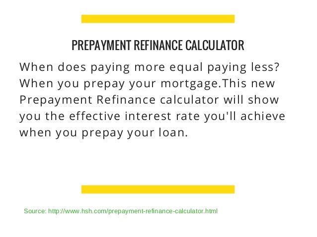 refinance calulator
