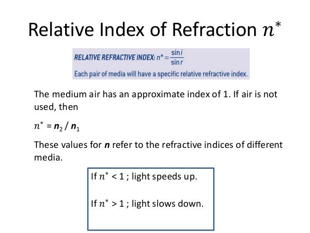 5 refraction snells law 8 2