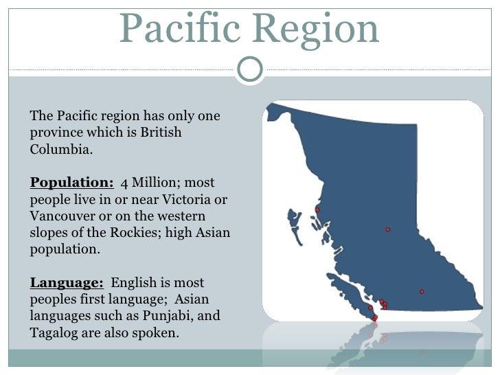 Regions Of Canada Map.5 Regions Of Canada