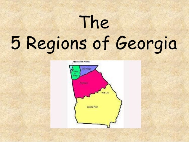 The 5 Regions of Georgia