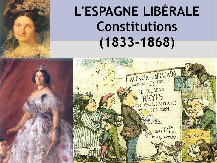 STATUT ROYAL (1834) Brève Lettre Attribuée Extrêmement moderée Souveraineté partagée entre la Couronne et les Cours Cours ...