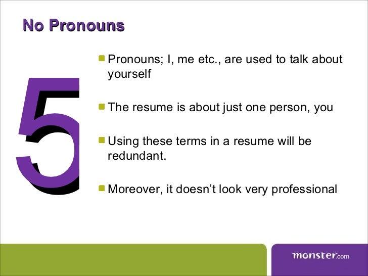 resume short 6 - Tips For Resume Writing