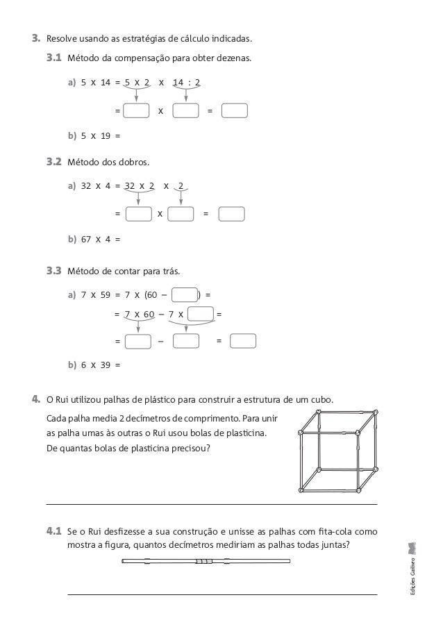 5. Observa os sólidos e assinala com X os que têm superfícies planas e curvas. EdiçõesGailivro 6. Observa os prismas e com...