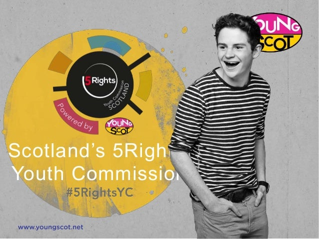 Scotland's 5Rights Youth Commission