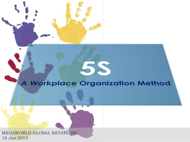 5s: a workplace organization method, Powerpoint templates