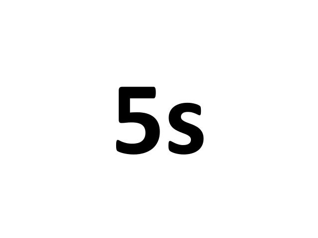 What is it? • 5S is a workplace organization technique • It is a way to involve associates in the ownership of their works...