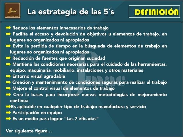 5s for Definicion de mobiliario