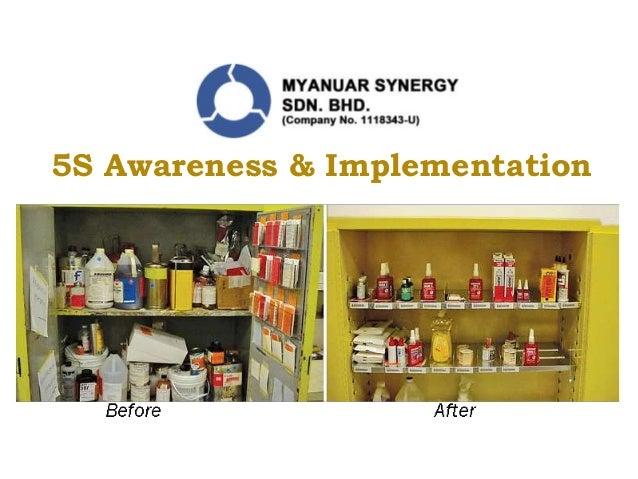 5S Awareness & Implementation