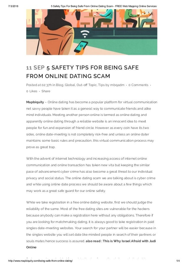 Scammers on badoo dating site