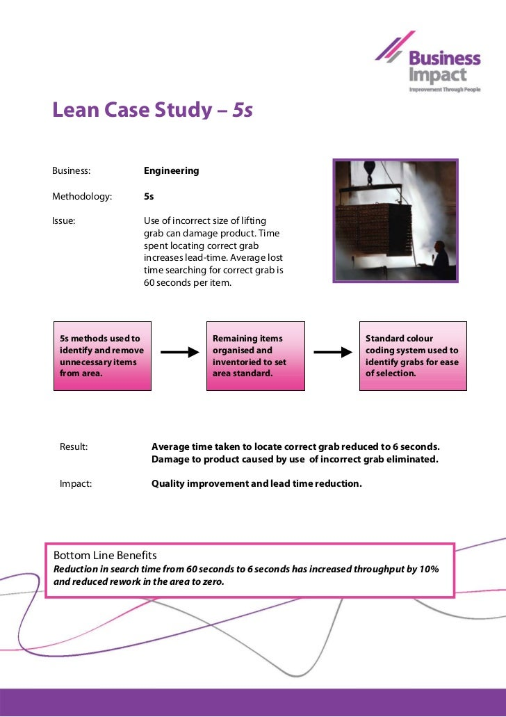 """lean case study uk Lean six sigma in a call centre case study download vs and kasturi, a (2006), """"improving call centre agent performance: a uk-india study based on the."""