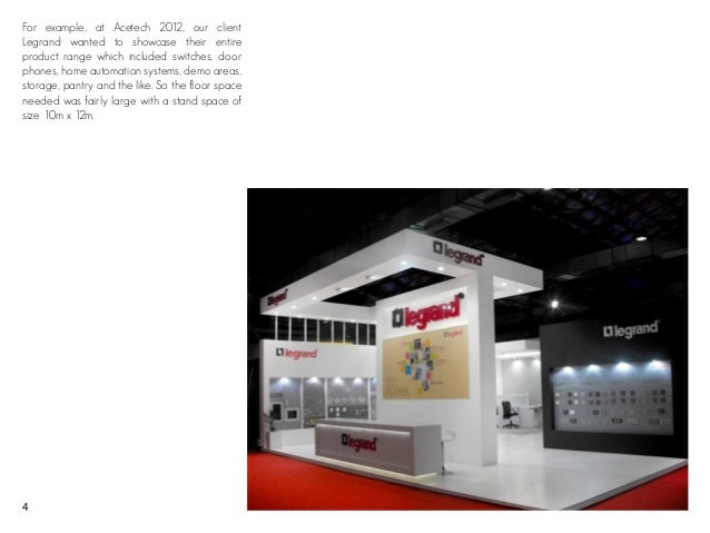 Exhibition Stall Booking In : 5 secrets for selecting the best exhibition stand space