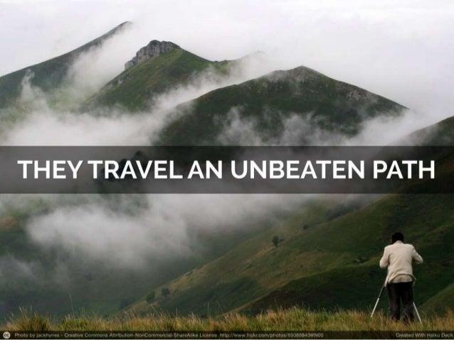 5 secret steps  to becoming a travel virtuoso Slide 3