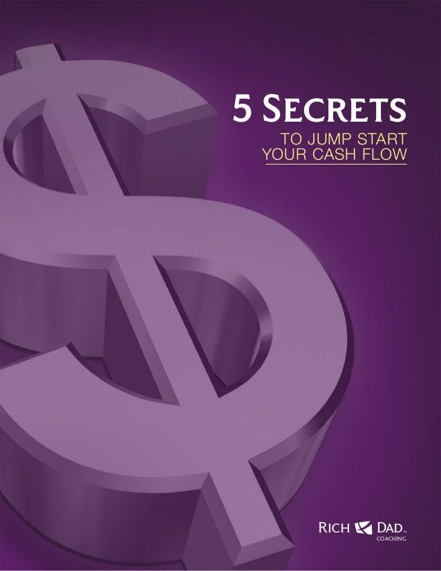 5 Secrets  To Jump start Your Cash flow  COACHING