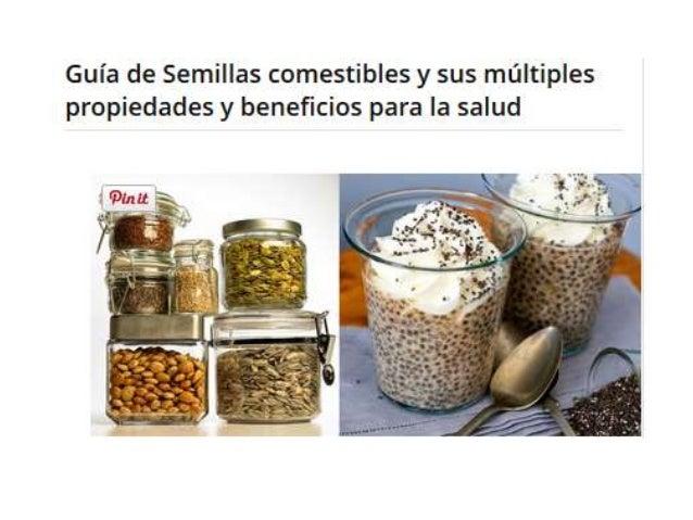 5 semillas comestibles