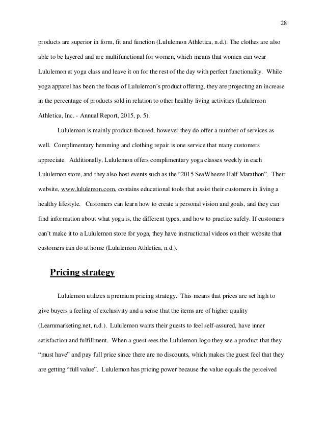 Linda park mba final portfolio thesis lululemon 28 altavistaventures Image collections