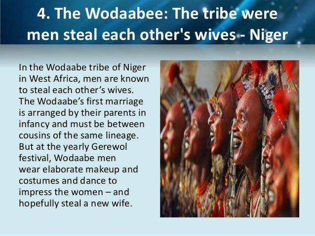 Sexual tradition around the world