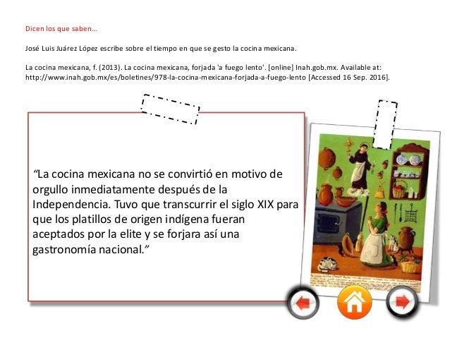 La cocina mexicana y sus 5 siglos de historia for Libro procesos de cocina