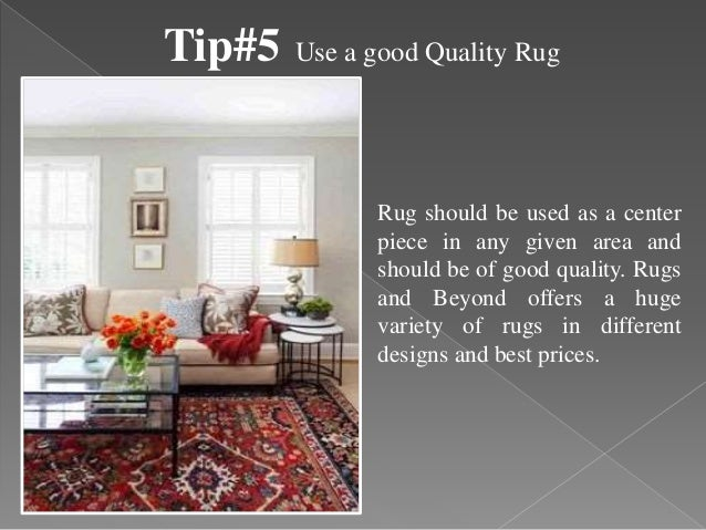 5 Simple Home Styling Tips by Rugs and Beyond